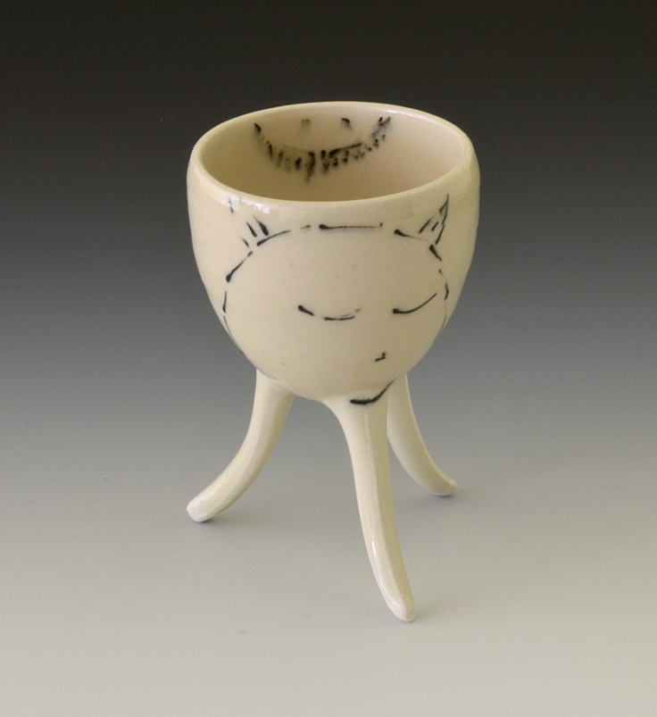 Gas fired porcelain