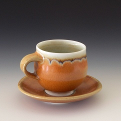 Salt Fired Demitasse