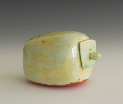 """Pod with drawer #1, Electric Fired, 3""""x4""""x3"""""""