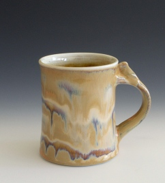 Salt Fired Coffee Mug
