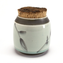 Black Leaf Herb Jar