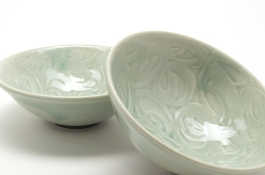Water Etched Bowls